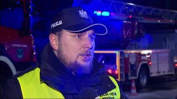 Wybuch gazu w Szczyrku. Policja szuka informacji o mieszkańcach zawalonego budynku