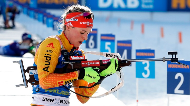 PŚ w biathlonie: 17. miejsce Hojnisz-Staręgi, wygrana Herrmann