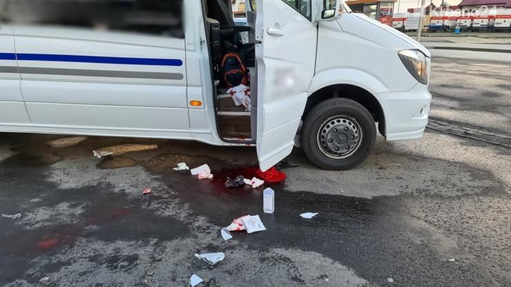 Autobus, w którym doszło do ataku