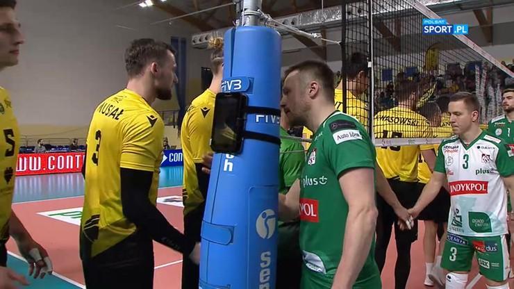GKS Katowice - Indykpol AZS Olsztyn 3:2. Skrót meczu