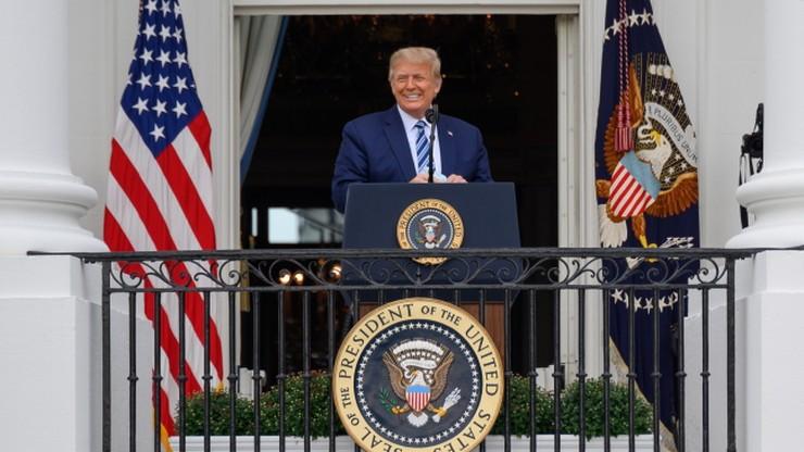 Trump poddał się testom. Nowe informacje o stanie zdrowia prezydenta USA