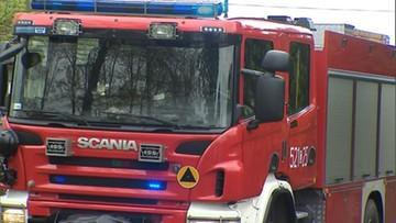 Tragiczny pożar w Małopolsce. Nie żyją dwie osoby
