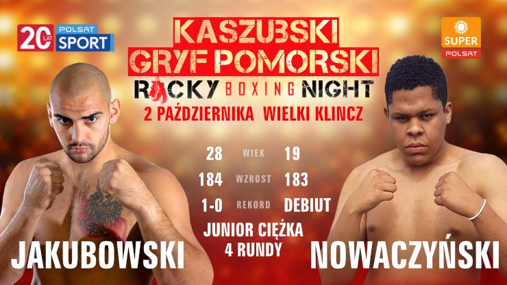 Kaszubski Gryf Pomorski Rocky Boxing Night: Transmisja na sportowych  antenach Polsatu