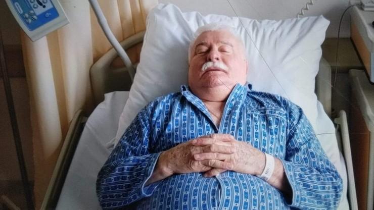 """Były prezydent Lech Wałęsa w szpitalu. """"Zabieg chirurgiczny"""""""