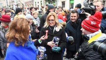 """Magdalena Adamowicz kwestuje dla WOŚP. """"Ufam ludziom, ale wracają tragiczne wspomnienia"""""""