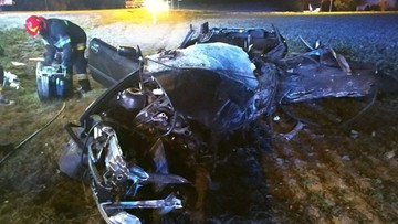 Zginęło dwóch młodych mężczyzn. Koszmarny wypadek pod Lublinem