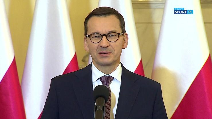 Premier Morawiecki: Marzy mi się siatkarski finał ME 2021 w Katowicach