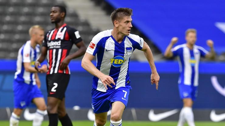 Bundesliga: Gol Piątka nie wystarczył. Porażka Herthy u siebie