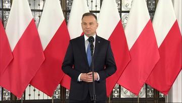 """Prezydent Duda: """"Nie chcę, byśmy cofali się do lat 2007-2015, gdy wstydzono się tego, co polskie"""""""