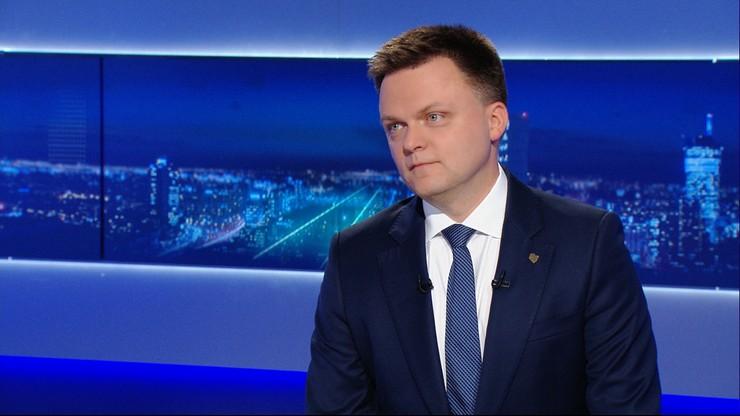 Szymon Hołownia: chcemy być w Sejmie jeszcze przed wyborami, rozmawiam z różnymi politykami