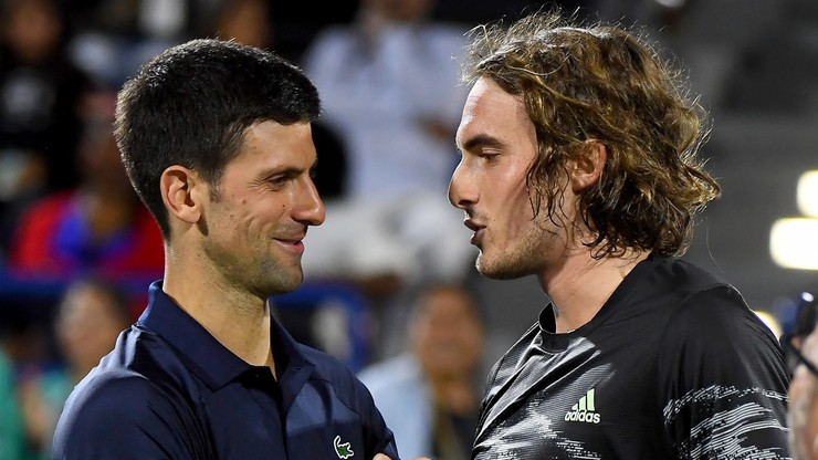 Tsitsipas pokonał Djokovica w półfinale turnieju pokazowego w Abu Zabi