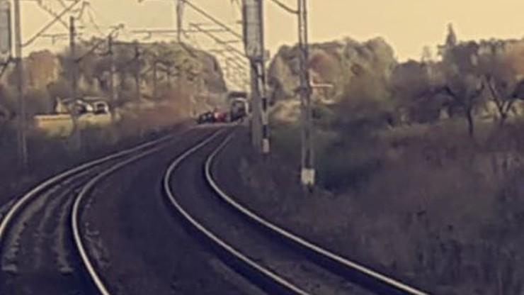 Pociąg śmiertelnie potrącił pracownika kolei. Mężczyzna zmarł mimo reanimacji