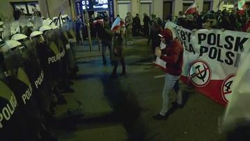 Zamieszki na marszu narodowców we Wrocławiu. Sześć osób z zarzutami