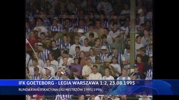 IFK Göteborg - Legia Warszawa 1:2. Skrót meczu