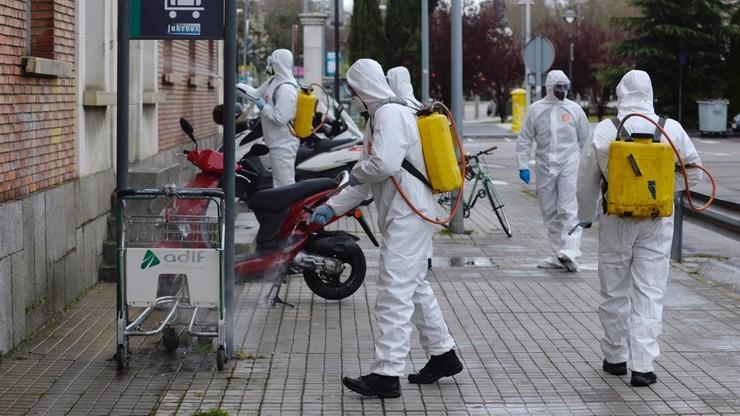 Trudna sytuacja w Hiszpanii. Rząd przedłuża stan zagrożenia epidemicznego