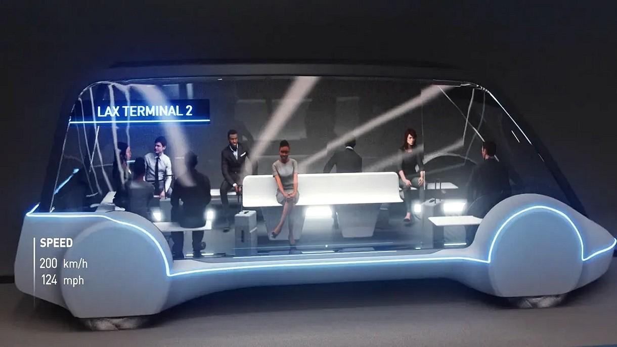 Hyperloop dla samochodów w Las Vegas ma już 1200 metrów długości