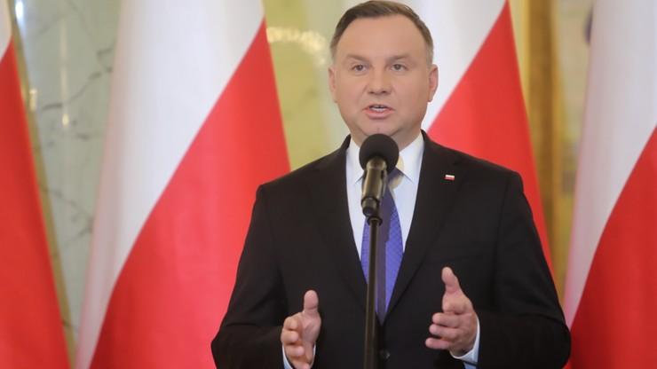 Prezydent o wprowadzeniu w Polsce stanu wyjątkowego