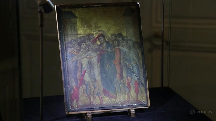 """Obraz """"Jezus wyśmiewany"""" sprzedany za 24 mln euro. Przez wiele lat wisiał w kuchni"""