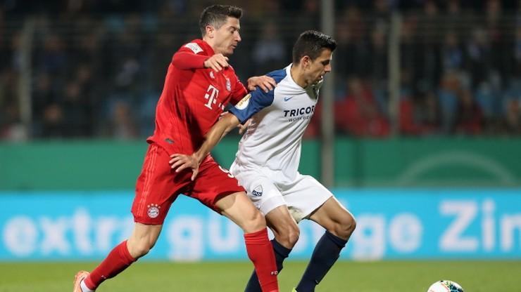 Puchar Niemiec: Bayern Monachium awansował po męczarniach