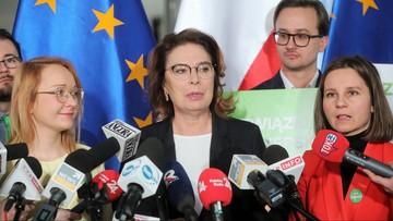 """Kolejna partia wsparła Kidawę-Błońską. """"Ma cechy głowy państwa"""""""