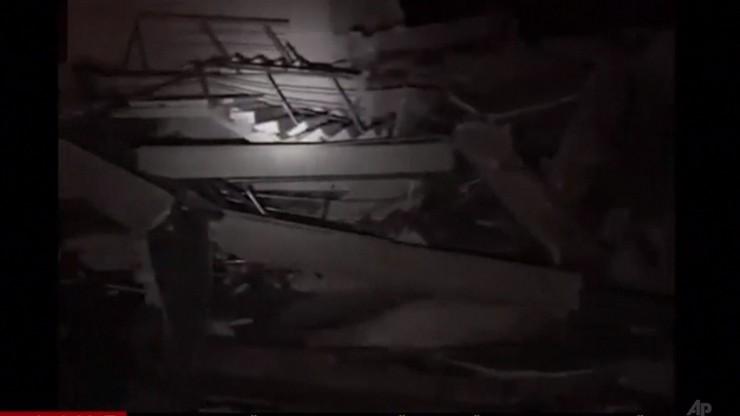 Albania: trzęsienie ziemi w Tiranie. Co najmniej kilkanaście ofiar i kilkaset rannych [WIDEO]