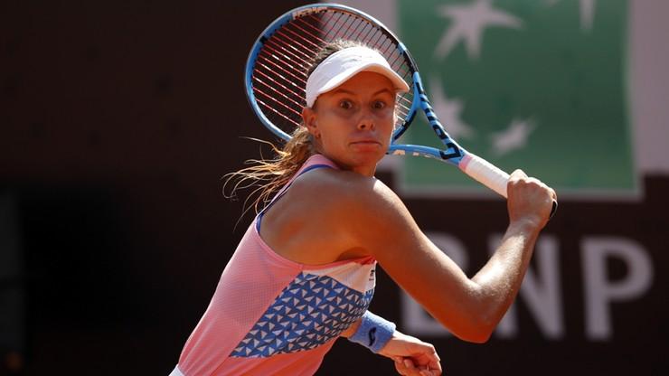 WTA w Rzymie: Magda Linette wyeliminowana przez Elise Mertens