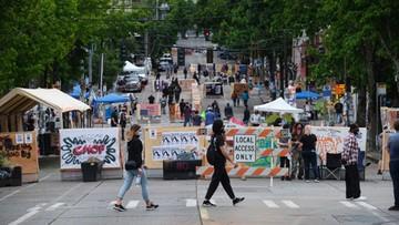 """Strzelanina przy """"strefie wolnej od policji"""" w Seattle"""