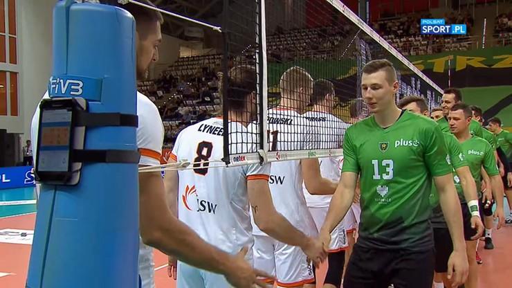 Jastrzębski Węgiel – GKS Katowice 3:2. Skrót meczu