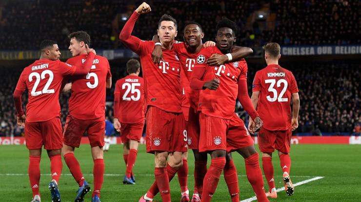 Liga Mistrzów: Wyjątkowy gest Lewandowskiego! Popchnął zawstydzonego kolegę