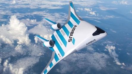 Samolot przyszłości o nazwie Maveric od Airbusa oszołamia pięknym pokładem