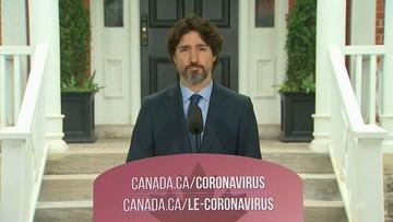 Premier Kanady został zapytany o sytuację w USA. 21 sekund ciszy