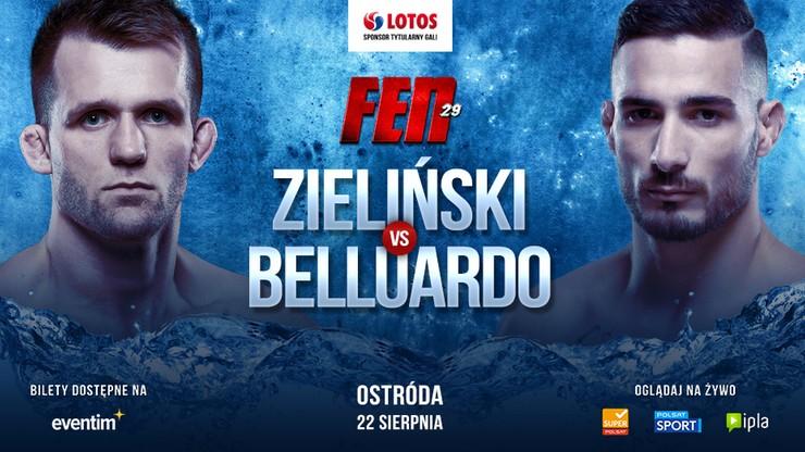 Były zawodnik UFC Belluardo rywalem Zielińskiego na FEN 29