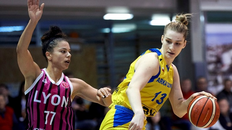 Euroliga koszykarek: Siódma z rzędu porażka Arki Gdynia