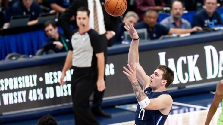 NBA: Doncic poprawił wyczyn Jordana, Davis zachwycił skutecznością