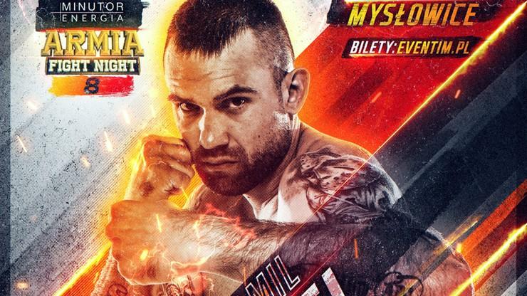 MINUTOR Energia Armia Fight Night 8: Jenel wraca i zakłada rękawice MMA