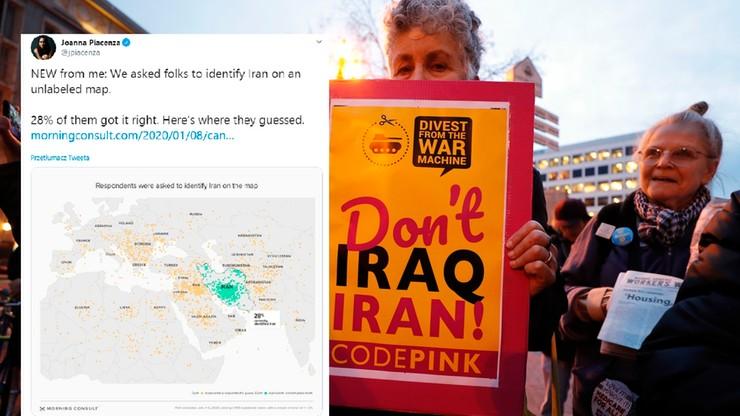 Iran na terenie Polski? Zaskakujące wyniki sondażu wśród Amerykanów