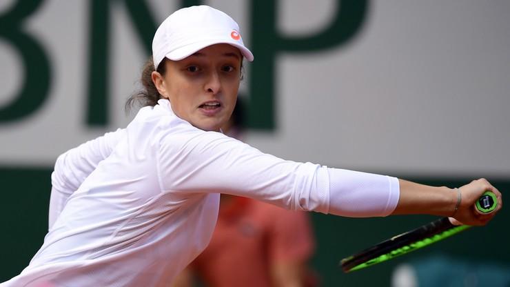 Iga Świątek: Najlepszą polską tenisistką jest...