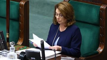Małgorzata Kidawa-Błońska kandydatem Nowoczesnej na prezydenta. Decyzja zapadła przez aklamację