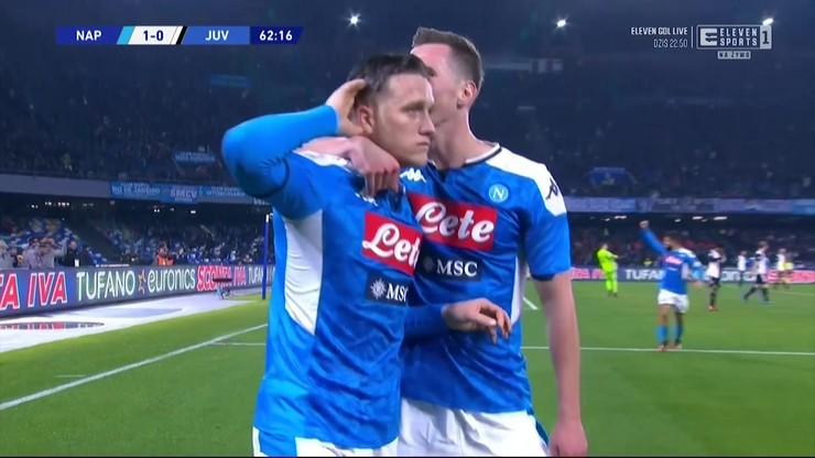 Napoli - Juventus 2:1. Skrót meczu i gol Zielińskiego [ELEVEN SPORTS]