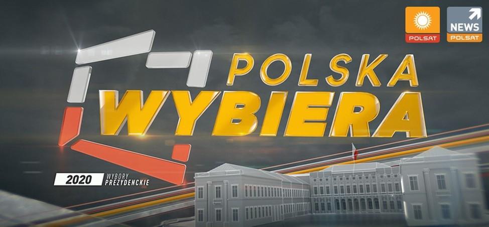 """Historyczny rekord oglądalności Polsat News w niedzielę. """"Polska Wybiera"""" najlepszym wieczorem wyborczym."""