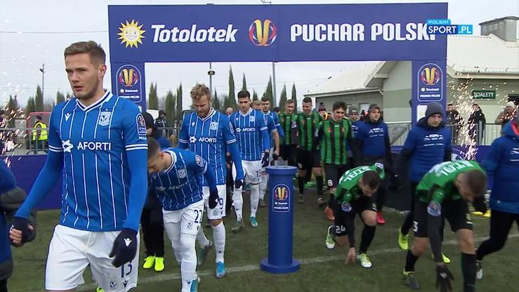 Stal Stalowa Wola - Lech Poznań 0:2. Skrót meczu