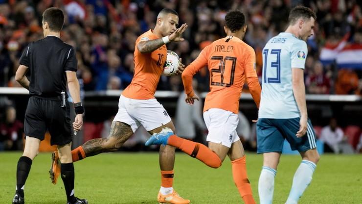 El. Euro 2020: Holandia pokonała Irlandię Północną po zabójczej końcówce