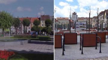 Betonoza w Bartoszycach. Wyrwali drzewa, które działają jak klimatyzatory