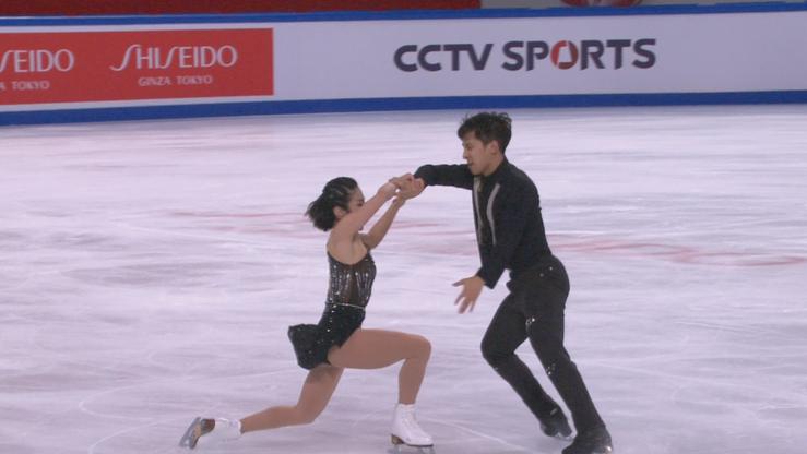 Łyżwiarstwo figurowe. Cup of China: Wenjing Sui i Cong Han zdeklasowali rywali!