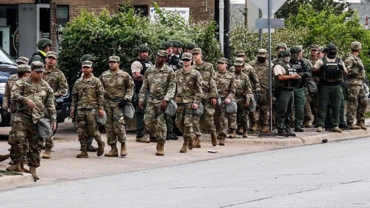 Zamieszki w USA. Trump wezwał do wykorzystania Gwardii Narodowej