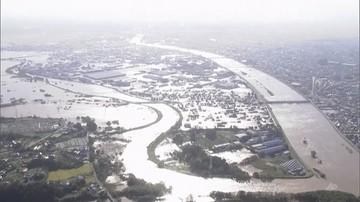 Prawie 60 ofiar tajfunu Hagibis. Ogromne obszary japońskich miast pod wodą