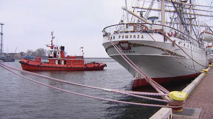 """Niezwykły rejs """"Daru Pomorza"""". 6-latek kapitanem żaglowca"""