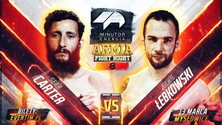 Minutor Energia Armia Fight Night 8: Łebkowski kontra Carter w karcie walk