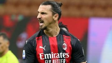 Serie A: Milan w końcu zatrzymany! Dwa gole Zlatana Ibrahimovicia nie dały zwycięstwa