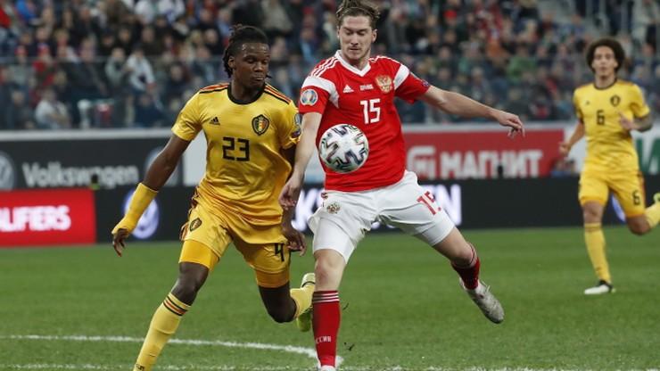 El. Euro 2020: Wpadka Belgów. Obrońca zagrał w nieswojej koszulce